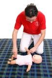 Säuglingsimpulscheckdemonstration Lizenzfreies Stockbild
