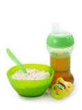 Säuglingsnahrung Lizenzfreies Stockfoto