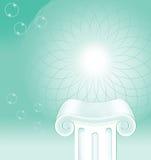 Säulen-Hintergrund-Konzept Stockbild