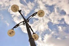 Säulenbeleuchtung Lizenzfreies Stockbild