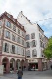 Säulengänge Straßburg Rue-DES Grandes Lizenzfreies Stockfoto