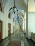 Säulengang stockbilder