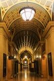 Säulengang, Indien-Gebäude. Liverpool. England Lizenzfreies Stockfoto