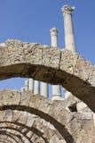Säulengang und Kolonnade im Agora stockfotos