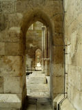 Säulengangflur Stockfoto