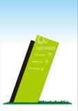 Säulengangwegweiser Lizenzfreie Stockbilder