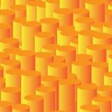 Säulengrafik - abstrakter vektorhintergrund Stockbilder