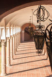 Säulenhalle-Säulen Stockbilder