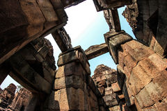 Säulenschüsse Stockfotos