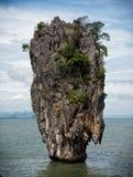 Sławna James Bond wyspa, Tajlandia obraz royalty free