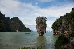 Sławna James Bond wyspa, Tajlandia obrazy stock