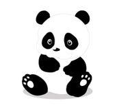 Så gullig panda royaltyfri illustrationer