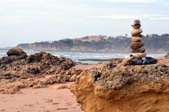 Så kallad `-John Blund` på stranden royaltyfri foto