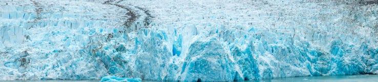 Sågareglaciären i tracyarmalaska fjordar near ketchikan alaska Royaltyfri Foto