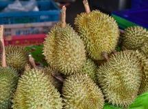 Såld Durian Royaltyfri Bild