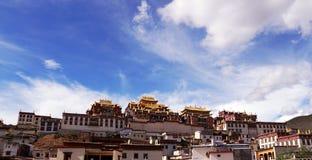Sång av templet Royaltyfri Bild