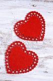 Sång för valentin dag Arkivfoto