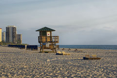 Sångare Island City Beach Arkivfoto