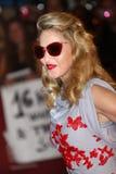 Sångare Madonna royaltyfria bilder