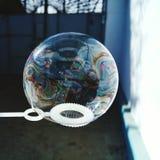 Såpbubbla arkivbild