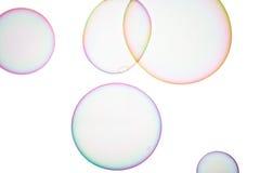 Såpbubblor Arkivbild