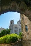 Sé大教堂在波尔图 库存图片
