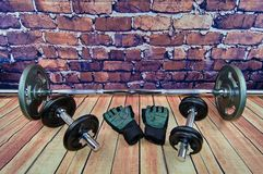 Séance d'entraînement d'équipement de sport photos libres de droits