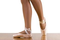 Séance d'entraînement de ballet de Derriere de pose Photographie stock libre de droits