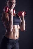 Séance d'entraînement de forme physique photographie stock libre de droits