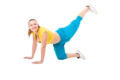 Séance d'entraînement de forme physique Photo stock