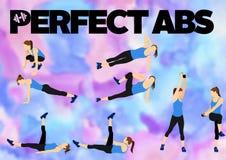 Séance d'entraînement de motivation de forme physique Photo stock