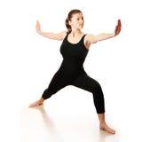 Séance d'entraînement de yoga Photos stock