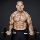 Séance d'entraînement modèle de forme physique Image stock