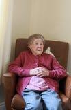 Séance de dame âgée Photos libres de droits