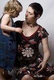 Séance de maman et de fils Photographie stock