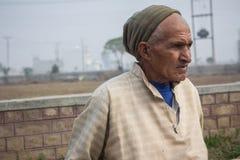 Séance de vieil homme images libres de droits