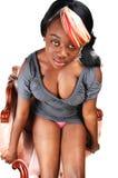 Séance jamaïquaine de femme. image libre de droits