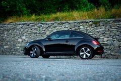 Séance photo de voiture iconique allemande de sport de coupé Image libre de droits