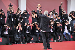 Séance photo - Di Venezia, septembre - Italie de 68° Mostra del Cinema Images libres de droits