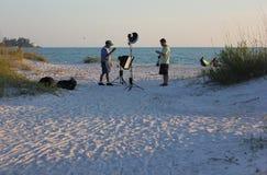 Séance photos de plage photo stock