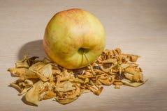 Séché et les fruits frais Images stock