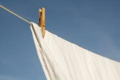 Séchage de lavage sur une ligne Images stock