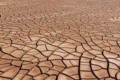 Sécheresse criquée de sol photographie stock
