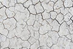Sécheresse de sol fendue Images libres de droits