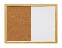 Séchez l'effacement Cork Board Image libre de droits