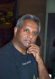 Sécrétaire général Salil Shetty d'Amnesty International Image libre de droits