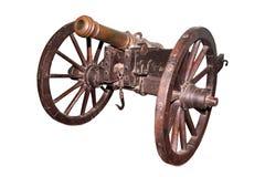 Século do canhão 17 do russo de Grivenkovaya 1/2 (27 milímetros) Fotos de Stock Royalty Free