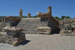 Século II de Isis Temple In Roman City Baelo Claudia Dating In The BC Foto conservada em estoque, imagem e imagem livre dos direi foto de stock royalty free