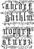 Século XVI das gravuras de madeira Fotos de Stock Royalty Free