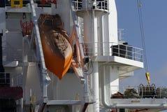 Sécurité à bord de navire de marine marchande moderne photos libres de droits